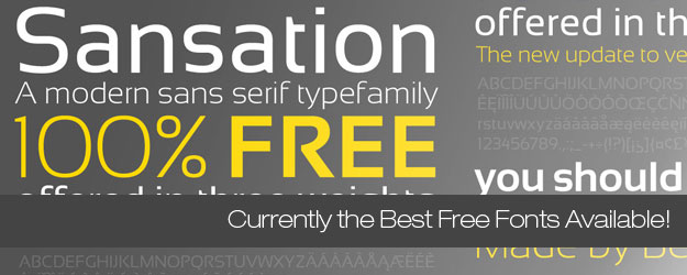 65+ Currently Some of the Best Free Fonts Available!