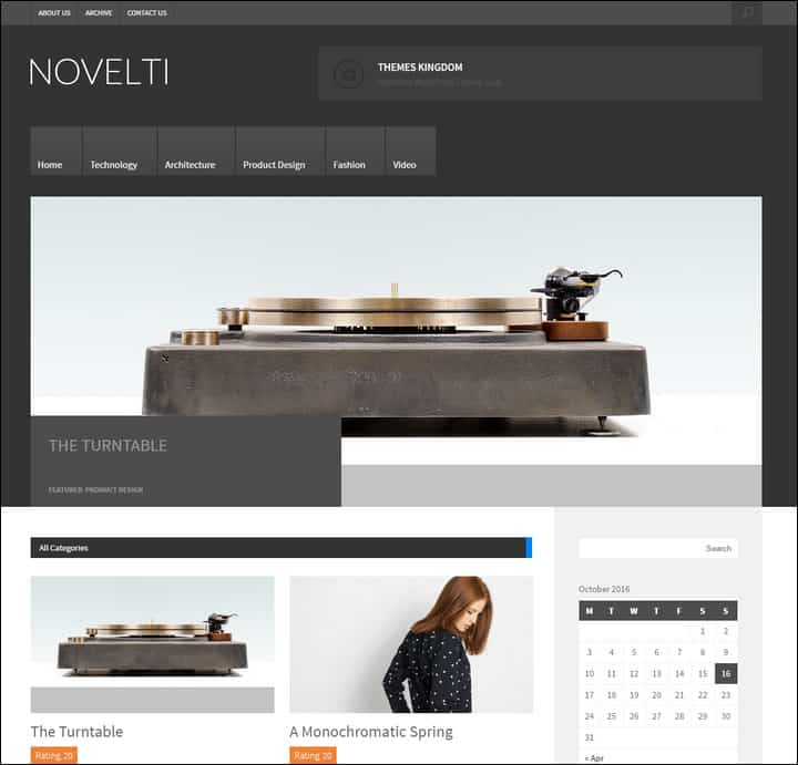 novelti responsive magazine wordpress theme