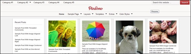 25 Awesome Pinterest WordPress Theme Showcase