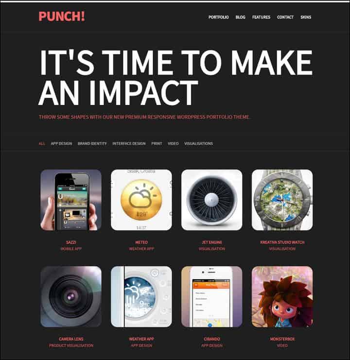 punch-responsive-portfolio-wordpress-theme