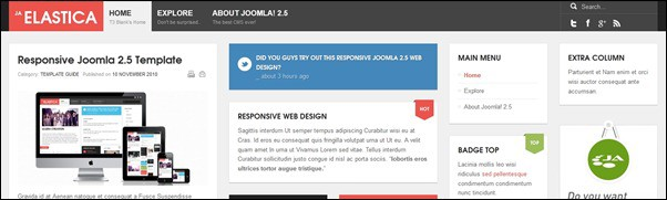 20+ Awesome Responsive Joomla Templates