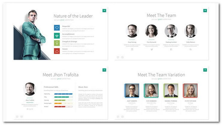 Ever - Multipurpose Presentation Keynote Template