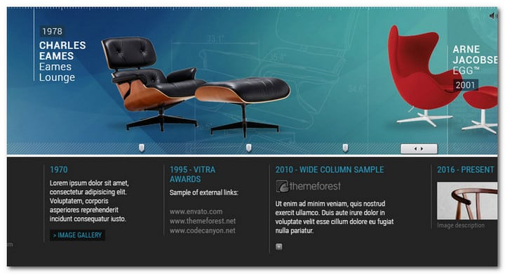 9 Stunning jQuery Timeline Plugins For Picky Webmasters in 2017