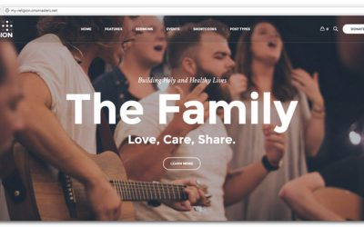 20+ Best Church WordPress Themes For Popular Sites in 2017