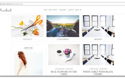 15+ Grid-Style WordPress Themes – Show Off Your Creative Stuff!