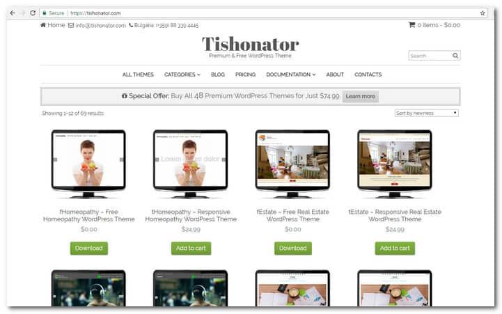 Tishonator