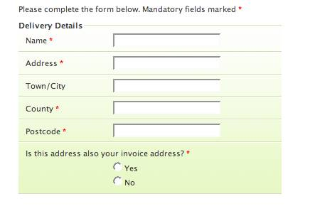 Prettier Accessible Forms