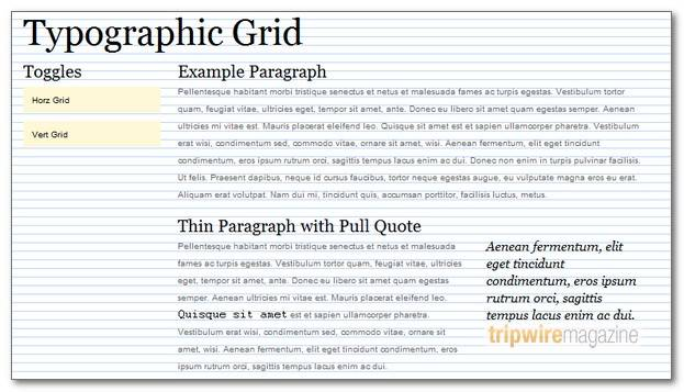 TypographicGrid