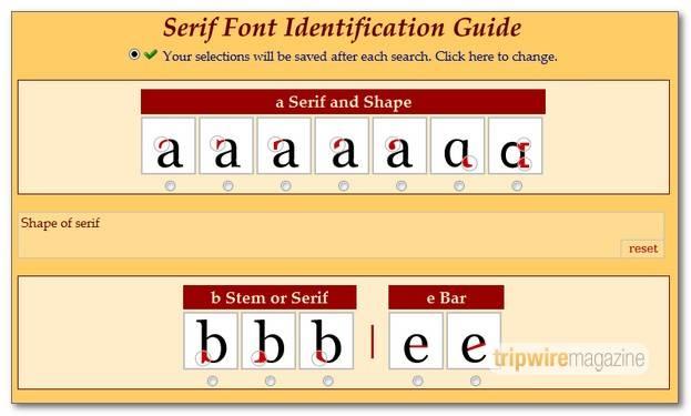 serifsearch