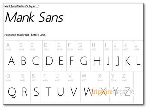 Mank-Sans